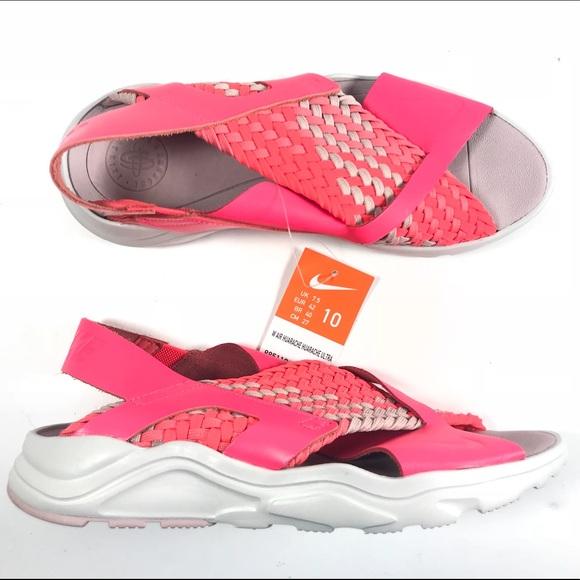 50e0a3d44540 Nike Air Huarache Ultra Solar Red Coral Sandals